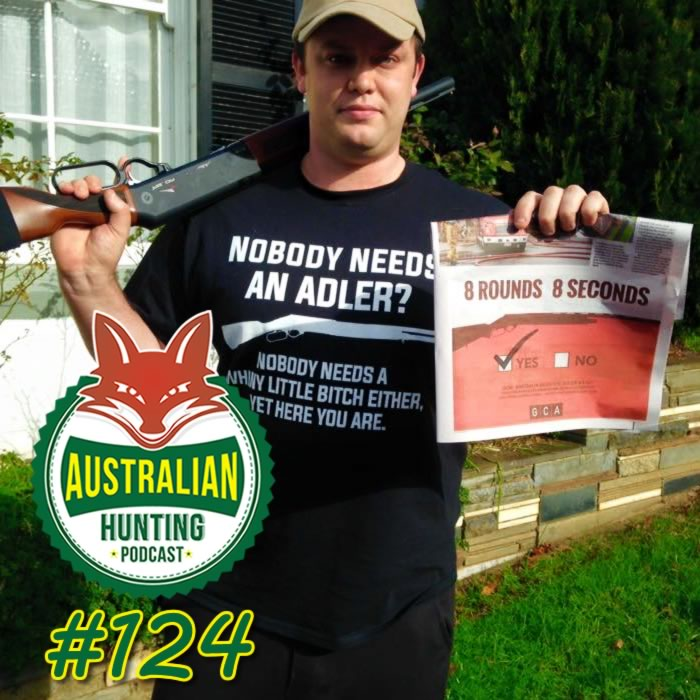 AHP124 - James Buckle From Firearms Owners United